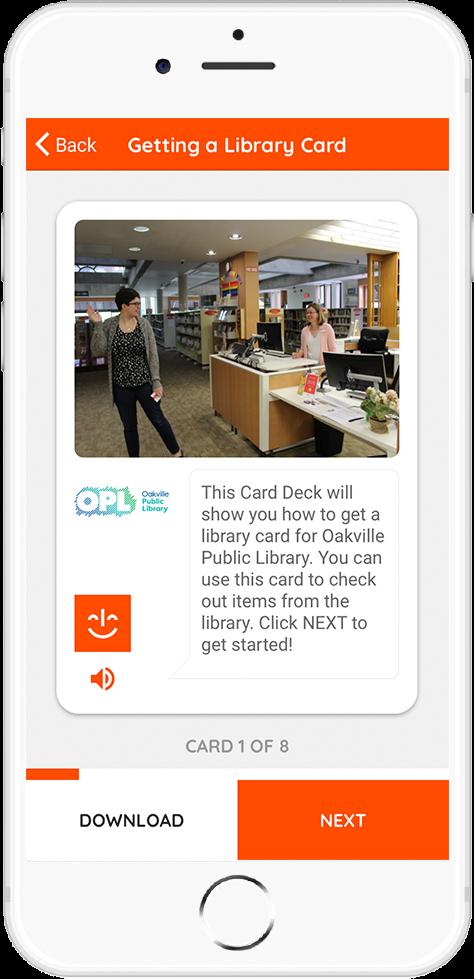 Oakville Public Library Card 3