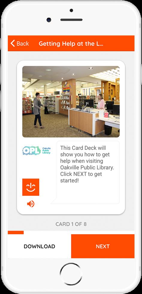 Oakville Public Library Card 2