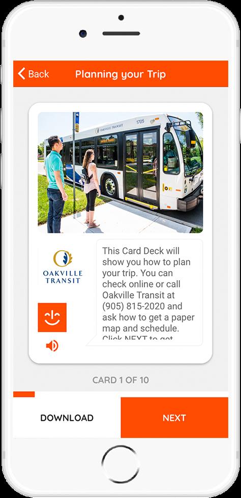 Oakville Transit - Planning Your Trip Card 1