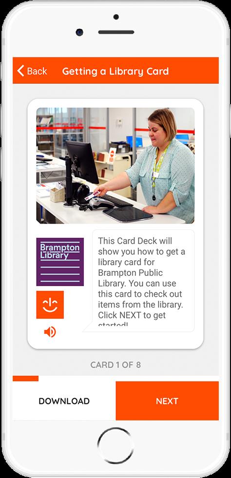Brampton Library Card Example 1