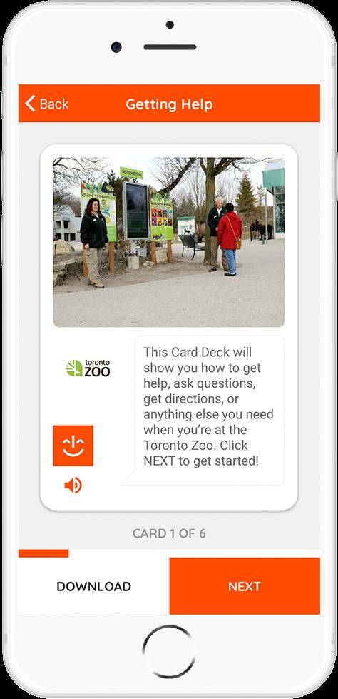 Toronto Zoo Card 1